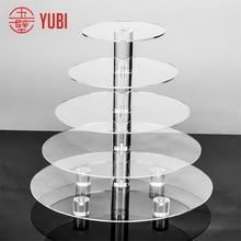 Excellent quality hot-sale acrylic cupcake dessert stand
