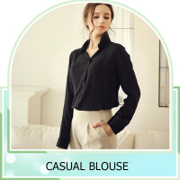 custom Summer long sleeve lady blouse Casual women chiffon blouse