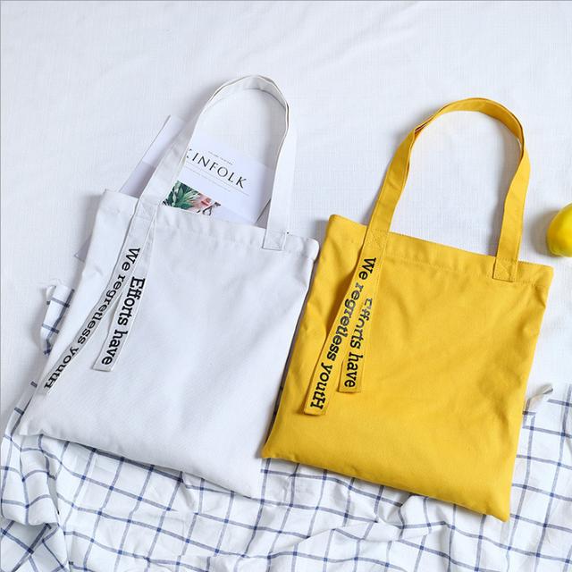 Fashion Cheap Ladies Canvas Shoulder Bag Tote Handbag Women Handbags