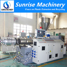 Plastic PVC Twin Screw Extruder Machine for PVC Pipe Production Line