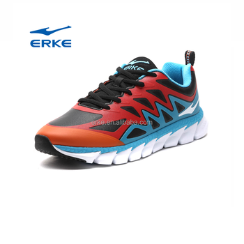 ERKE wholesale factory dropship winter performance brand mens running shoes