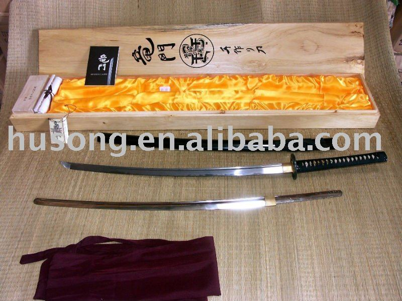 hand made samurai swords