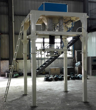 Automatic bulk blending fertilizer big bag packing machine
