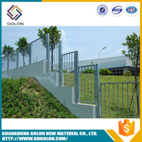 Top products hot selling new 2016 prefab iron fence panels , garden fence and fence designs