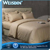embroidered hot sale luxury sheraton hotel bed linen