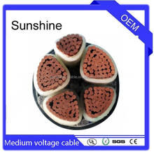 high voltage cable al/xlpe/swa/pvc in tunnel 26/35kV(35kV)