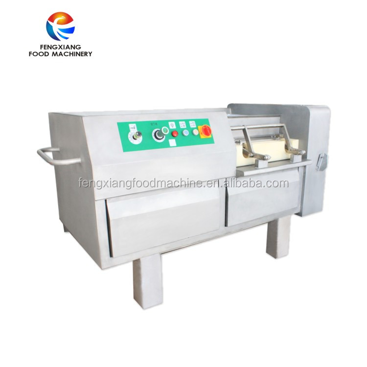Large Capacity Electric Industrial Frozen Meat Dice Cutting Machine