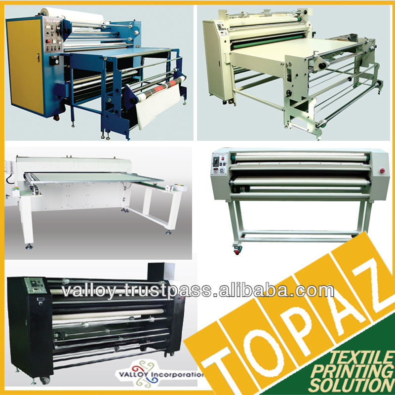 Korea TOPAZ Sublimation Heat Press Transfer Machine