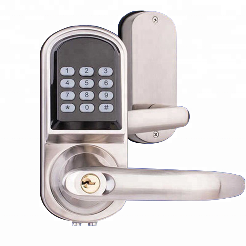 Low battery warning fingerprint door lock smart with <strong>bluetooth</strong>