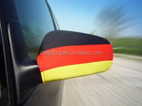brazil car mirror sleeves for brazil world cup 2014 car mirror cover flag