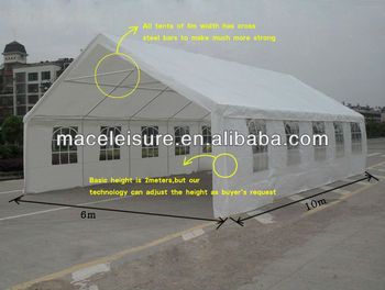 6*10M outdoor folding canopy tent / car storage tent