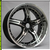 17-22inch beautiful alloy aluminum wheel for car with five spoke