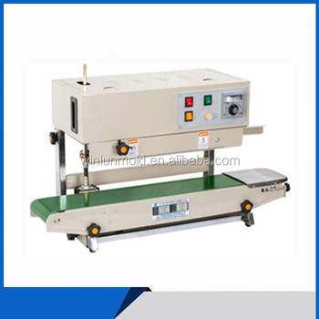 aluminum foil coding thermo sealing machine