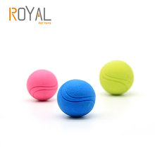 Oem Acceptable TPR Rubber Durable New Small Dog Chew Toys Dog Tennis Ball