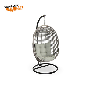 Egg Shaped Outdoor Acrylic Swing Chair For Balcony