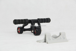 High quality AB power wheel/ab slider exercises With Knee mat