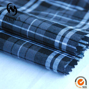 100% Cotton Yarn Dyed Woven Fabric Mill