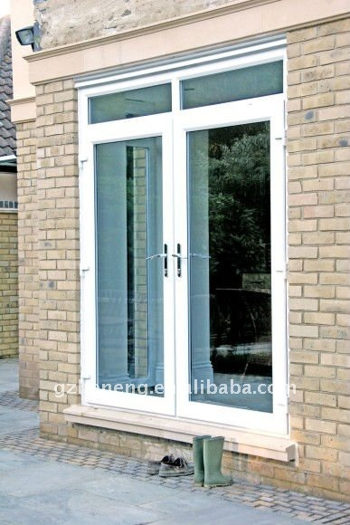 2011 French Doors PVC door vinyl door