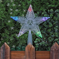 Christmas tree topper lights