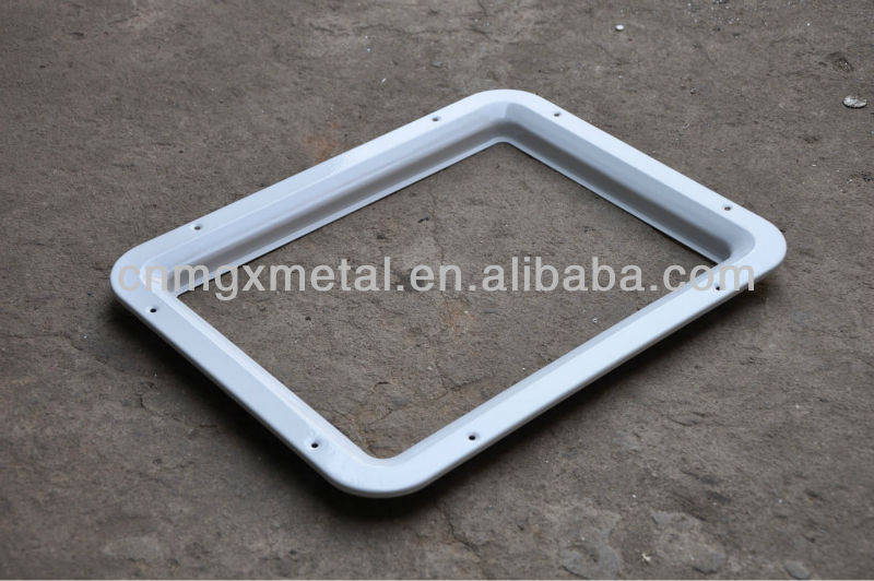 high quality sheet square metal frame garage door parts