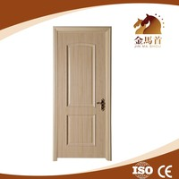 JMS cheap price Inner Bedroom Pvc Entrance Painting color Mdf interior Doors