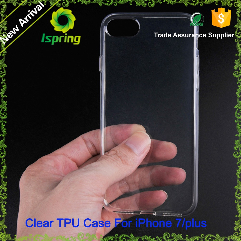 High Quality For Iphone Cases,Crystal Transparent Tpu Skin For Iphone 7 Case Silicone Clear
