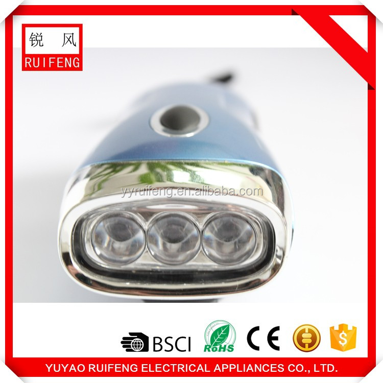 New product launch factory dynamo flashlight from online shopping alibaba
