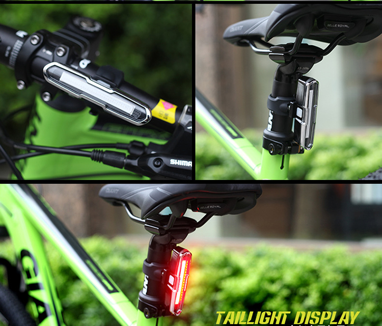 2018 News Hot sale high quality usb rechargeable LED bike light