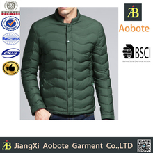 New Design Outdoor Man Breathable Winter Jacket,Slim Man Clothes Down Feather