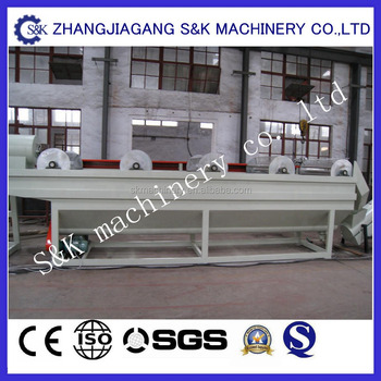 PP PE film recycling machine