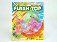 Colorful flashing spinning top for kids FC74112823A