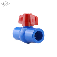 Agricultural irrigation system plastic upvc pvc water ball valve with many sizes