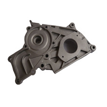a380 and adc12 aluminum die casting part pump body cover