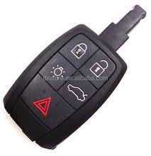 High quality 4+1 buttons fake car key shell for Volvo car key volvo truck key