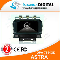 car dvd player with GPS navigation systemOPEL ASTRA J GPS navigation system