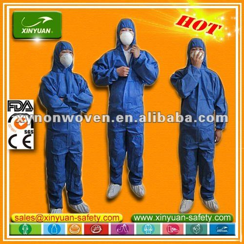 protective category 3 TYPE 5/6 SMS Antistatic Coverall