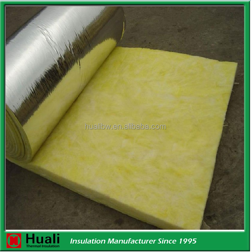 harga twiga duct insulation roll acoustic material for auditorium 32kg/m3 25mm thick glasswool