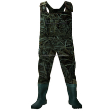 Fashion breathable & waterproof fishing rubber waders manufacture