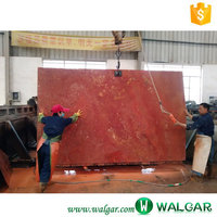 Natural Decorative Pink&Red&Golden Travertine With Good Quality