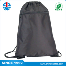 Fugang Wholesale Printing Customize Logo Drawstring Backpack Bag With Zipper