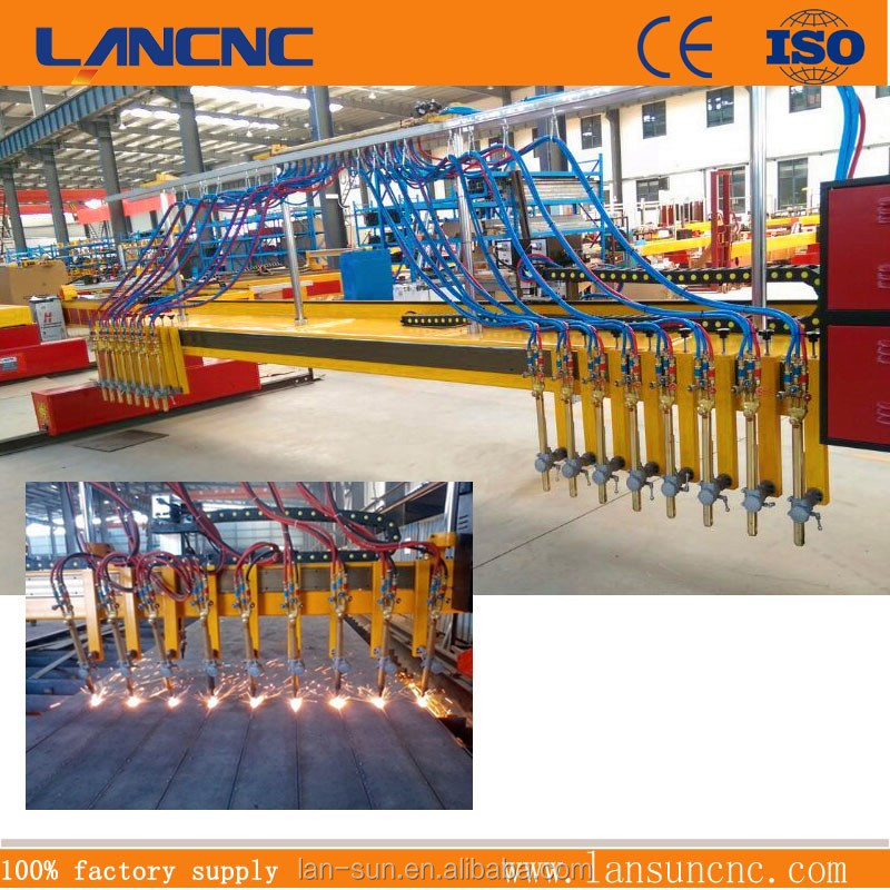 220V 380V plasma and flame cutter straight line gas cutting machine