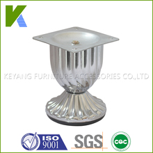 Chrome Furniture Hardware Leg For Sofa , Table , Chair And Other Cabinet
