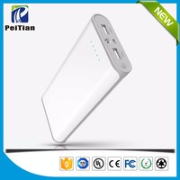 2016 new design portable 20000mAh large capacity mobile phone power bank