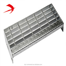 32 x 5mm steel grating manual welded steel gratings Stair tread steel steps