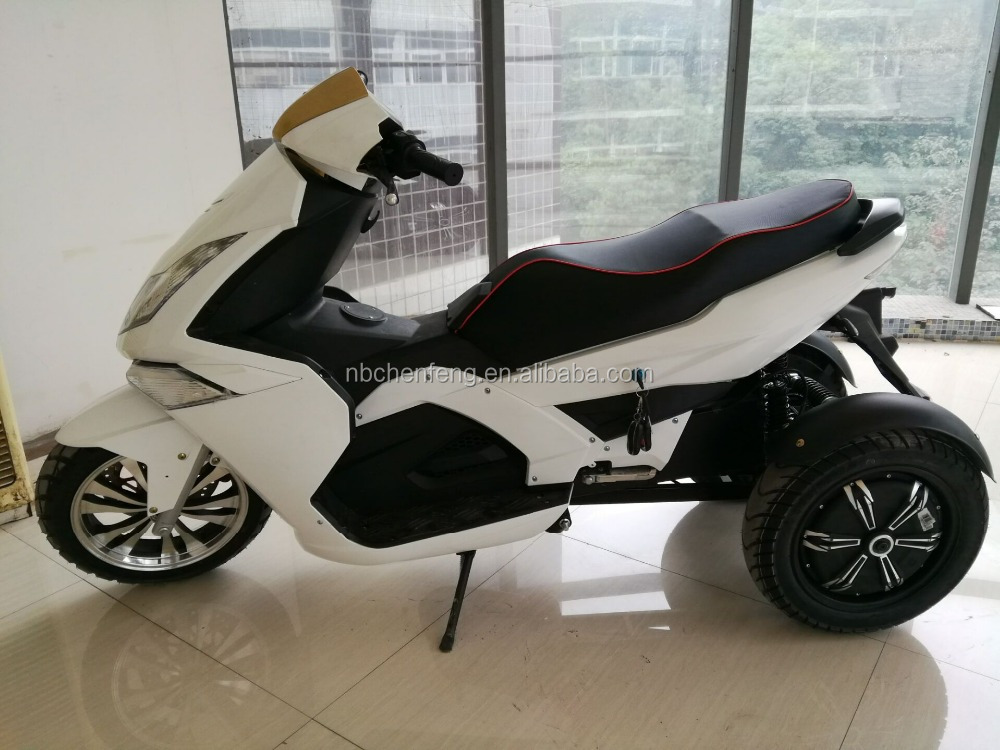 EEC 2000w 72v electric sport 3 wheel scooter