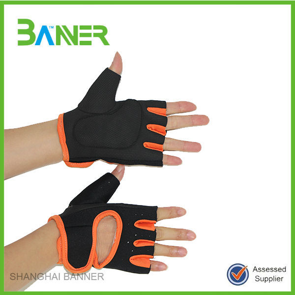 GYM outdoor sports bike short-finger bicycle gloves