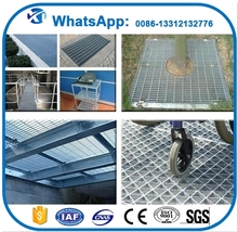 Professional round grill grates stainless steel steel grating and flooring China factory