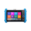 7 inch capacitive touch screen 4K H.265 6 in 1 multi function AHD IPC Analog TVI CVI SDI Android system WIFI CCTV tester