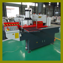 Full automatic mullion end milling machine for Aluminum and PVC profile window door