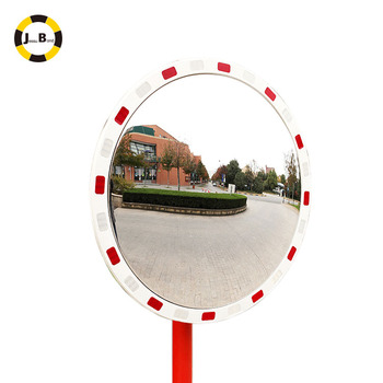 Outdoor rectangle traffic reflective mirror for high way